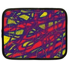 Abstract High Art Netbook Case (xxl)  by Valentinaart