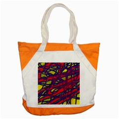 Abstract High Art Accent Tote Bag by Valentinaart