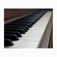 Piano Keys Glasses Cloth (small 2 Side) by PhotoThisxyz