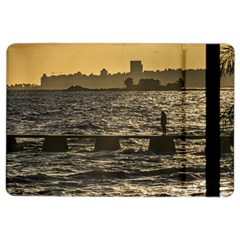 River Plater River Scene At Montevideo Ipad Air 2 Flip by dflcprints