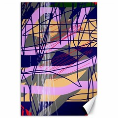 Abstract high art by Moma Canvas 24  x 36  by Valentinaart