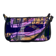 Abstract High Art By Moma Shoulder Clutch Bags by Valentinaart