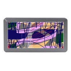 Abstract High Art By Moma Memory Card Reader (mini) by Valentinaart