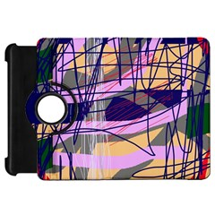 Abstract high art by Moma Kindle Fire HD Flip 360 Case by Valentinaart
