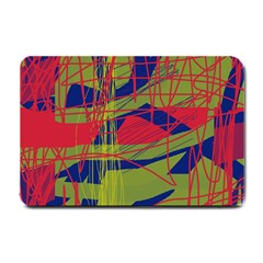 High Art By Moma Small Doormat  by Valentinaart