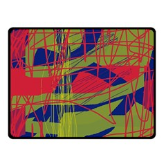 High Art By Moma Fleece Blanket (small) by Valentinaart