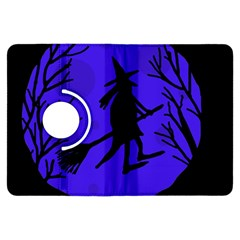 Halloween Witch   Blue Moon Kindle Fire Hdx Flip 360 Case by Valentinaart