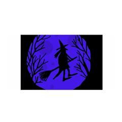 Halloween Witch   Blue Moon Satin Wrap by Valentinaart
