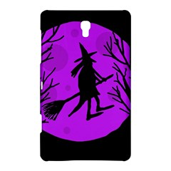 Halloween Witch   Purple Moon Samsung Galaxy Tab S (8 4 ) Hardshell Case  by Valentinaart