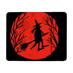 Halloween witch - red moon Samsung Galaxy Tab Pro 8.4  Flip Case by Valentinaart