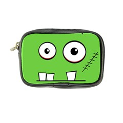 Halloween Frankenstein   Green Coin Purse by Valentinaart