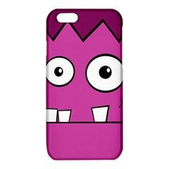 Halloween Frankenstein - pink iPhone 6/6S TPU Case by Valentinaart