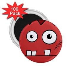 Halloween Frankenstein - Red 2.25  Magnets (100 pack)