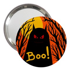 Halloween Monster 3  Handbag Mirrors by Valentinaart