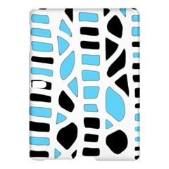 Light Blue Decor Samsung Galaxy Tab S (10 5 ) Hardshell Case  by Valentinaart