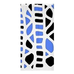Blue decor Shower Curtain 36  x 72  (Stall)  by Valentinaart