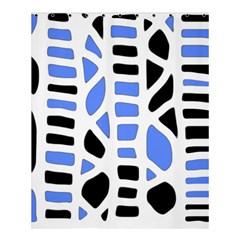 Blue Decor Shower Curtain 60  X 72  (medium)  by Valentinaart