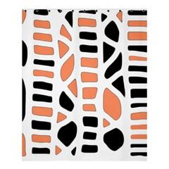 Orange Decor Shower Curtain 60  X 72  (medium)  by Valentinaart