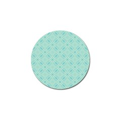 Light Blue Lattice Pattern Golf Ball Marker (4 pack) by TanyaDraws