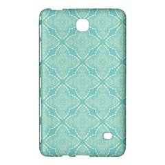 Light Blue Lattice Pattern Samsung Galaxy Tab 4 (7 ) Hardshell Case  by TanyaDraws