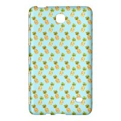 Tropical Watercolour Pineapple Pattern Samsung Galaxy Tab 4 (7 ) Hardshell Case  by TanyaDraws