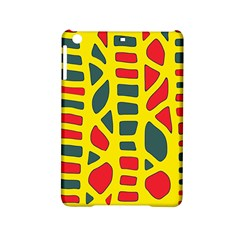 Yellow, Green And Red Decor Ipad Mini 2 Hardshell Cases by Valentinaart