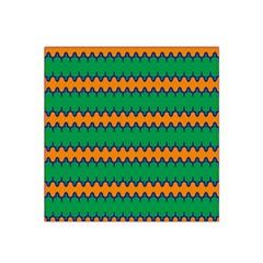 Orange Green Chains                                                                                            Satin Bandana Scarf by LalyLauraFLM