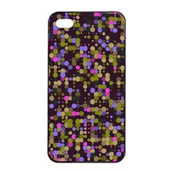 Dots                                                                                            			apple Iphone 4/4s Seamless Case (black) by LalyLauraFLM