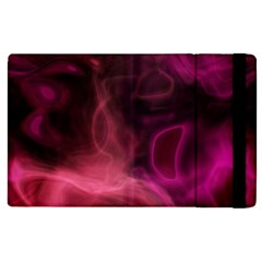 Pink Red Texture                                                                                             			apple Ipad 2 Flip Case by LalyLauraFLM