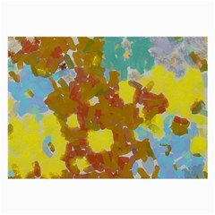 Paint Strokes                                                                                               large Glasses Cloth by LalyLauraFLM