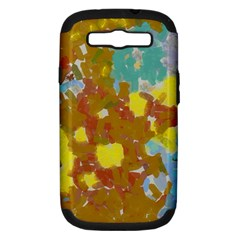 Paint Strokes                                                                                              samsung Galaxy S Iii Hardshell Case (pc+silicone) by LalyLauraFLM