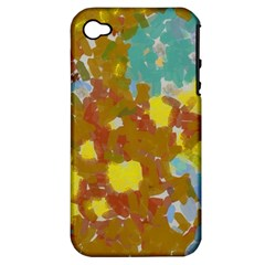 Paint Strokes                                                                                              apple Iphone 4/4s Hardshell Case (pc+silicone) by LalyLauraFLM