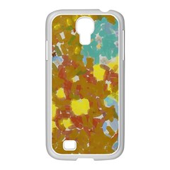 Paint Strokes                                                                                              			samsung Galaxy S4 I9500/ I9505 Case (white) by LalyLauraFLM