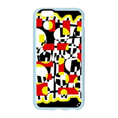 Red and yellow chaos Apple Seamless iPhone 6/6S Case (Color) by Valentinaart