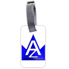 Azure Prince Luggage Tags (two Sides) by azureprinceinc