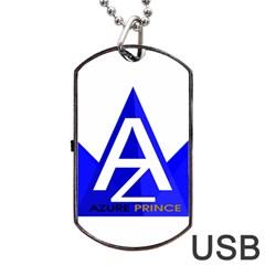 Azure Prince Dog Tag Usb Flash (one Side) by azureprinceinc