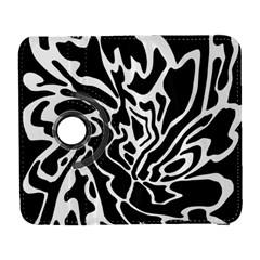 Black and white decor Samsung Galaxy S  III Flip 360 Case