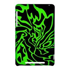 Green and black Nexus 7 (2012)