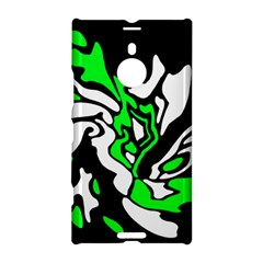 Green, White And Black Decor Nokia Lumia 1520 by Valentinaart