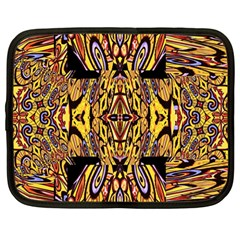 Digital Space Netbook Case (large) by MRTACPANS