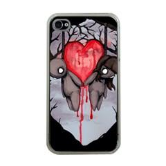 Til Death Apple Iphone 4 Case (clear) by lvbart
