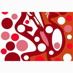 Red And White Decor Collage Prints by Valentinaart