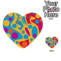 Colorful Decor Multi Purpose Cards (heart)  by Valentinaart