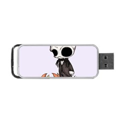 Smashing Pumpkin King  Portable Usb Flash (two Sides) by lvbart