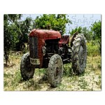 Red Tractor :   Puzzle - Jigsaw Puzzle (Rectangular)
