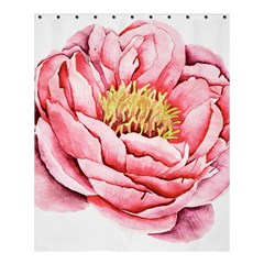 Large Flower Floral Pink Girly Graphic Shower Curtain 60  X 72  (medium)  by CraftyLittleNodes