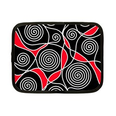 Hypnotic Design Netbook Case (small)  by Valentinaart