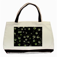 Green Soul  Basic Tote Bag by Valentinaart