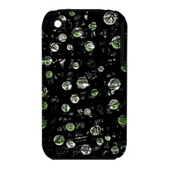 Green soul  Apple iPhone 3G/3GS Hardshell Case (PC+Silicone) by Valentinaart
