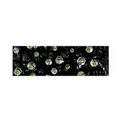 Green Soul  Satin Scarf (oblong) by Valentinaart